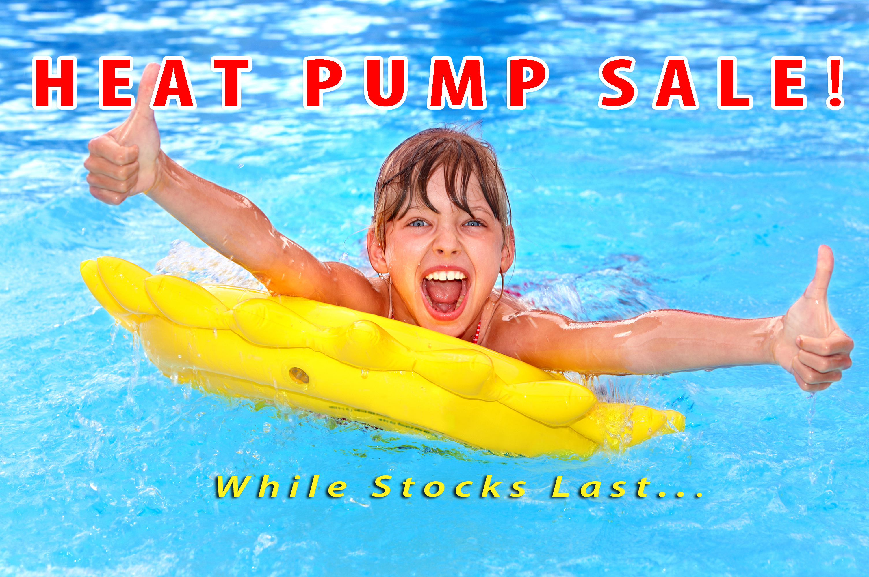 Pool Heat Pump Sale